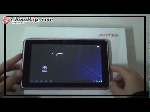 Amoi Q70 8GB Rockchip RK2906 1GHz 7inch Capacitive Screen Android 4.0 Camera Tablet PC