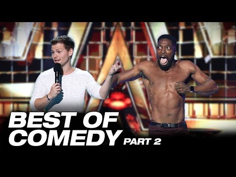 Lol! You Won't Stop Laughing With These Comedians - America's Got Talent: The Champions