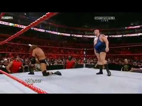 Raw vs Big Show WWE Raw 26/10/09 HQ