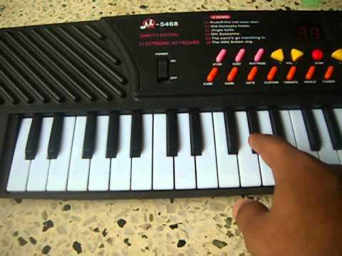 how to play aye maalik tere bande hum on piano