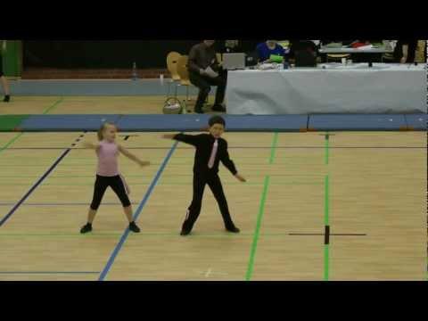 Meiken Hinrichsen & Florian Burkert - Aller Cup Winsen 2012
