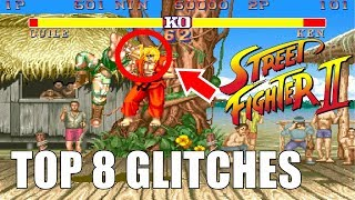 Top 8 Crazy, Funny, and Game Breaking Glitches for Street Fighter 2!!!