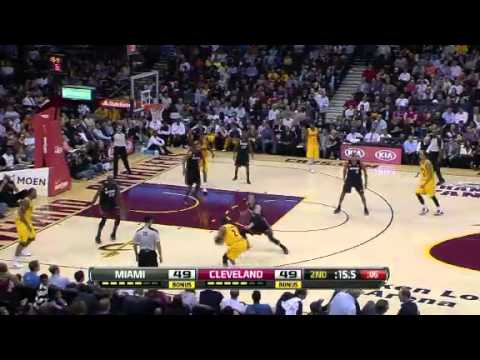 Miami Heat Vs Cleveland Cavaliers 15 April 2013 - NBA CIRCLE Highlights http://www.nbacircle.com