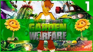 Plants vs. Zombies: Garden Warfare - #1 - Разбираемся! ᴴᴰ [Xbox 360]