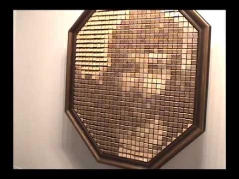 Quot Wooden Mirror Quot 1999 By Daniel Rozin Youtube
