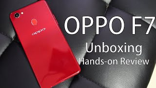 OPPO F7 Unboxing, Hands on Review Price and Specs
