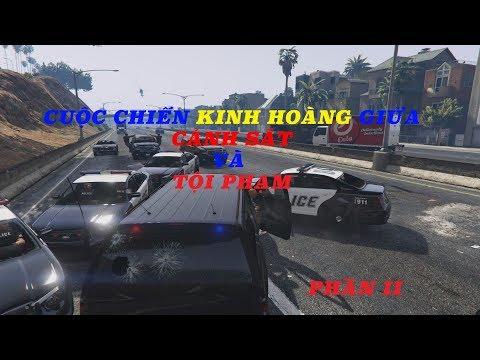 [ GTA 5 Official ] Màn rượt đuổi kinh hoàng giữa đặc vụ FBI và tội phạm ở Las Vegas - Phần 2