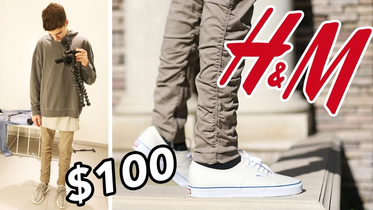 THE $100 H&M OUTFIT CHALLENGE! OUTFIT FOR FALL!!