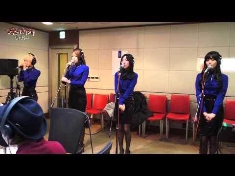정오의 희망곡 김신영입니다 - AOA - Miniskirt, 에이오에이 - 짧은치마 20140206