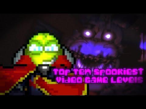 Top Ten Spookiest Video Game Levels