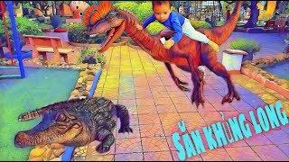 Bé vui chơi | Bắn khủng long | Cá sấu | Đăng Khoa Boong TV |