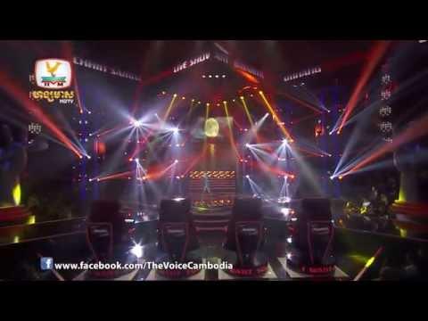 The Voice Cambodia - Live Show 1 - Srok Tear Min Men Kmean Panh Ha - Chhin Samnang