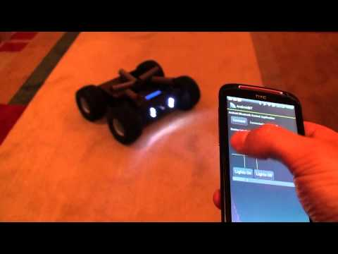 Android Controlled Rover Robot -2-