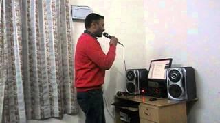 Kitna Haseen Chehra karaoke song by Neel.