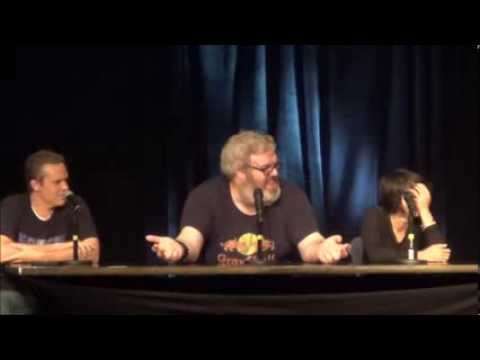 Hodor from GAME OF THRONES describes his nude scene...in great detail...at GMX Vol 5