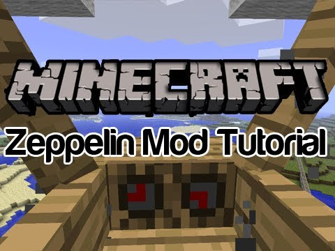 How to install The Zeppelin Mod for Minecraft [Updated to 1.2.5]