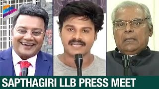 Sapthagiri LLB Telugu Movie Press Meet | Sapthagiri | Jolly LLB Movie Remake | Telugu Filmnagar