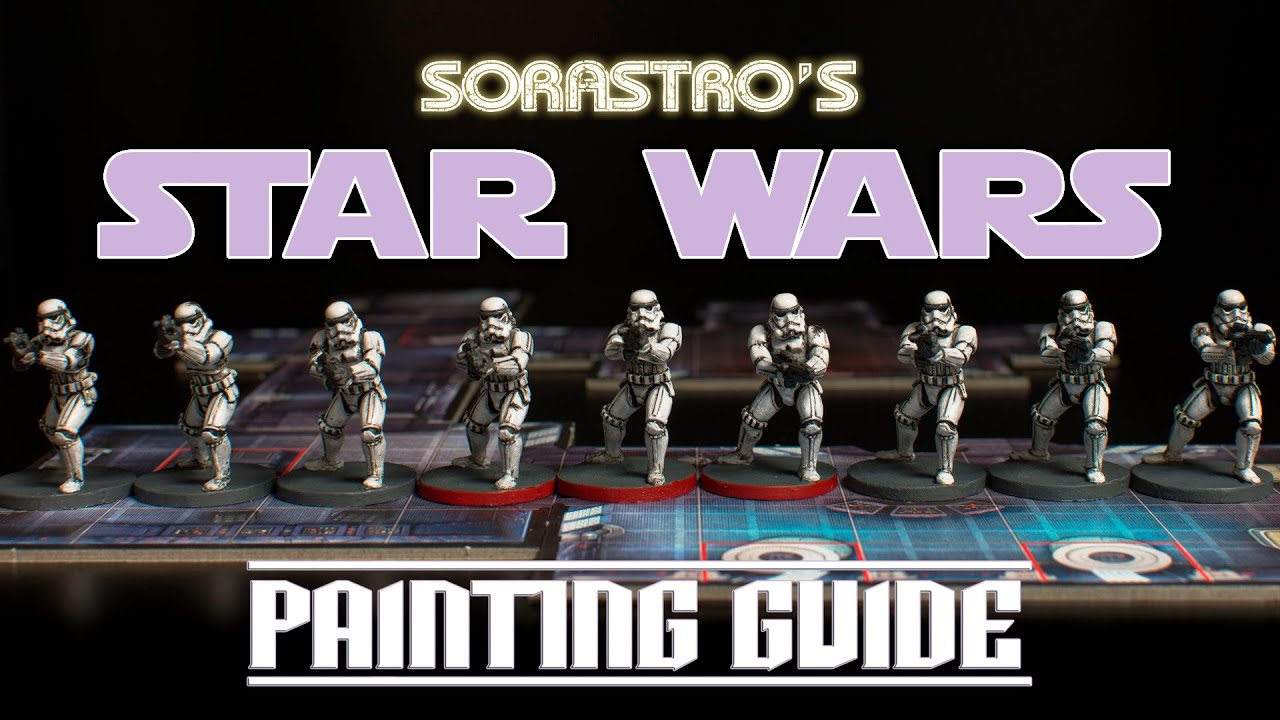 Painting White Miniatures Stormtrooper