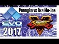 SFV EVO 2017 -Pools- POONGKO (KOLIN) vs BXA MO-JOE (R.MIKA)