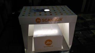 Reliance Jio 4G Sim CAF Activation ScanBox
