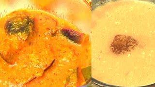 Maha Shivaratri Special Recipes - Pulagam Vankaya Gujju and Kaya Palu