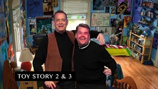 James Corden And Tom Hanks Act Out Tom 39 S Filmography