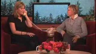 Jenna Bush calls dad from Ellen show