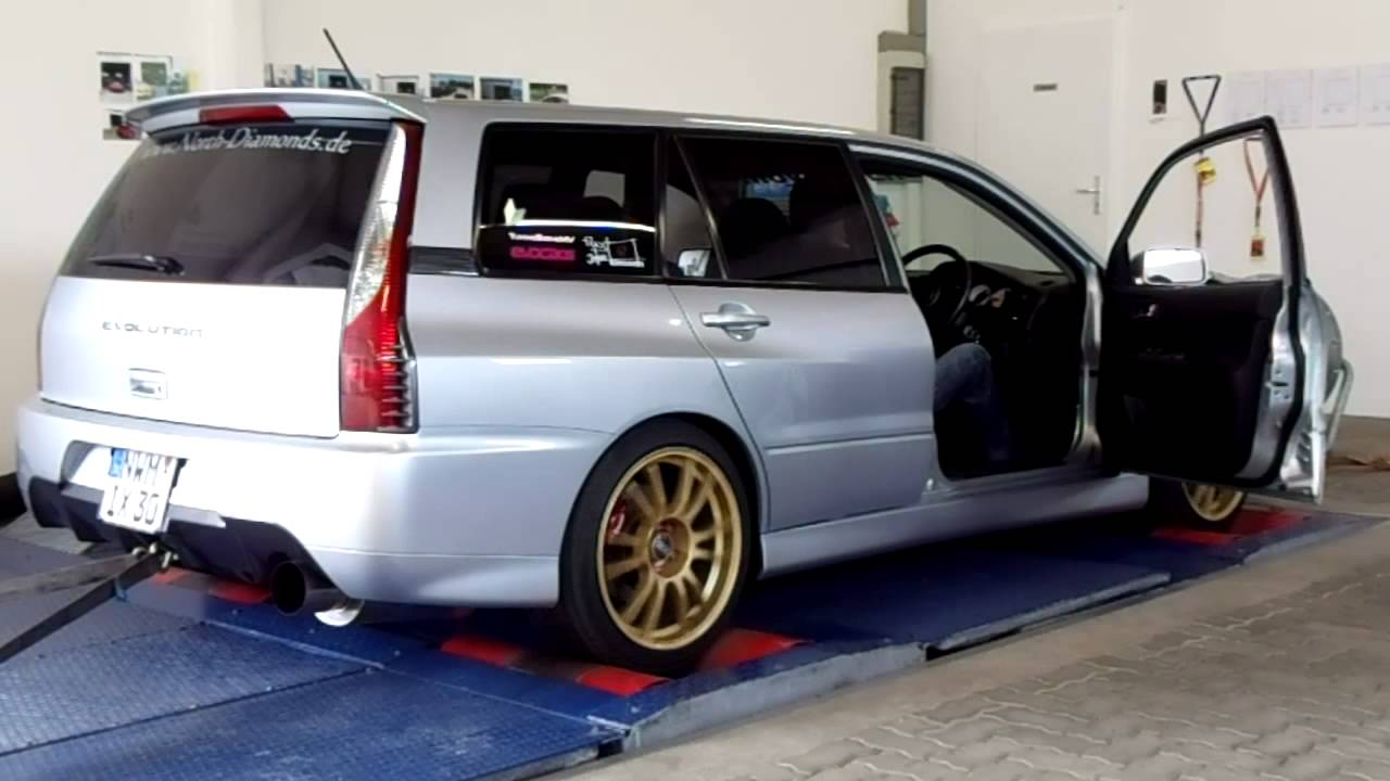 Silver Lancer Evolution Ix Quot Wagon Quot Gt A On Dynorun Youtube