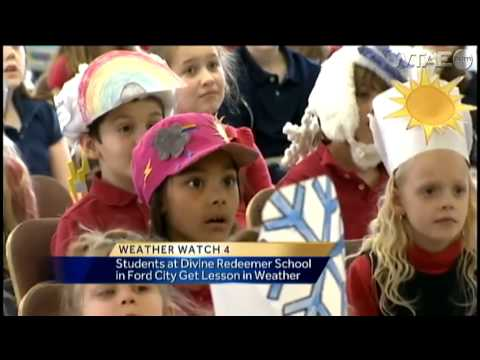 Weather Watch 4 School Visit: Divine Redeemer Catholic School