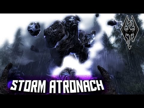 [Skyrim] How to Create a Storm Atronach Tome + Ingredients Locations