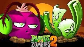 Rau Dền Phát Nhạc Và Cần Tây Sát Thủ | Plants Vs Zombies 2 | Hoa Quả Nổi Giận 2