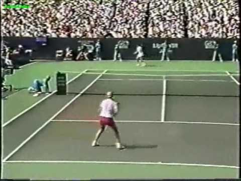 Monica Seles vs Gabriela Sabatini 1991 Miami Highlights