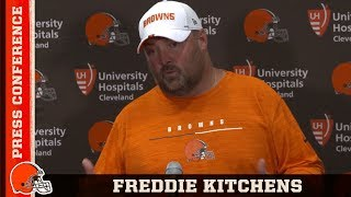 Freddie Kitchens Recaps Frustrating Performance on Offense | Cleveland Browns
