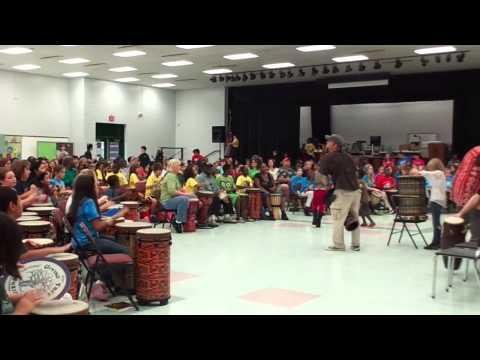 World Drumming Festival - John Hopkins Middle School, St. Petersburg, FL
