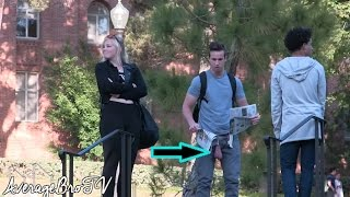 HILARIOUS BALLS PRANK (GONE RIGHT)!! - PRANKING COLLEGE STUDENTS