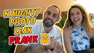 Boyfriend LOSES IT Over Naughty Photo Leak