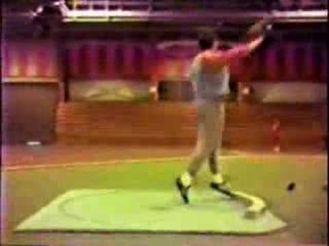 SHOT PUT TECHNIQUE ANALYSIS- RANDY BARNES , ROTATIONAL STYLE Video