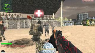 Call Of Duty 4 Modern Warfare - Multiplayer Map : Football Field Zombie Mod