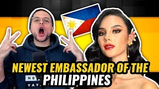 Miss Universe Catriona Gray Interviewed on BUILD Series HD | REACTION
