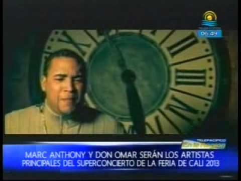 Programa Amaneciendo de Telepacífico - Marc Anthony y Don Omar en el Superconcierto