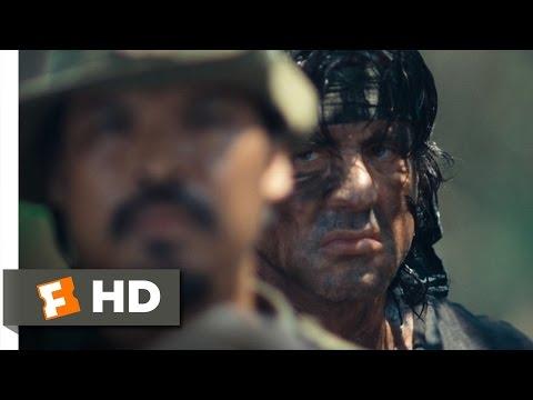 Rambo (10 12) Movie Clip - .50 Caliber Rescue (2008) Hd video