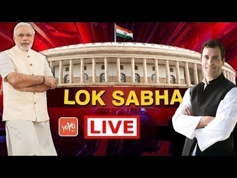 Lok Sabha Live | NO Confidence Motion | Modi | Parliament Monsoon 2018 Live | LSTV Live