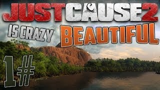Just Cause 2 is CRAZY Beautiful #1 - Cinematic Tour of Panau Islands [HD]
