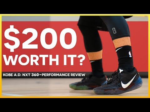 Nike Kobe A.D. NXT 360 - PERFORMANCE REVIEW/TEST