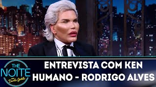 Entrevista com Ken Humano - Rodrigo Alves   The Noite (23/05/18)