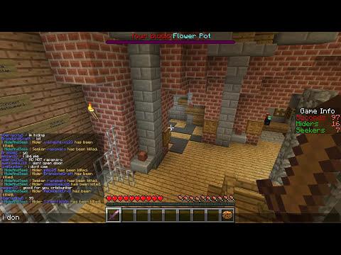 Minecraft: Hide N Seek - Eu Não Ligo!