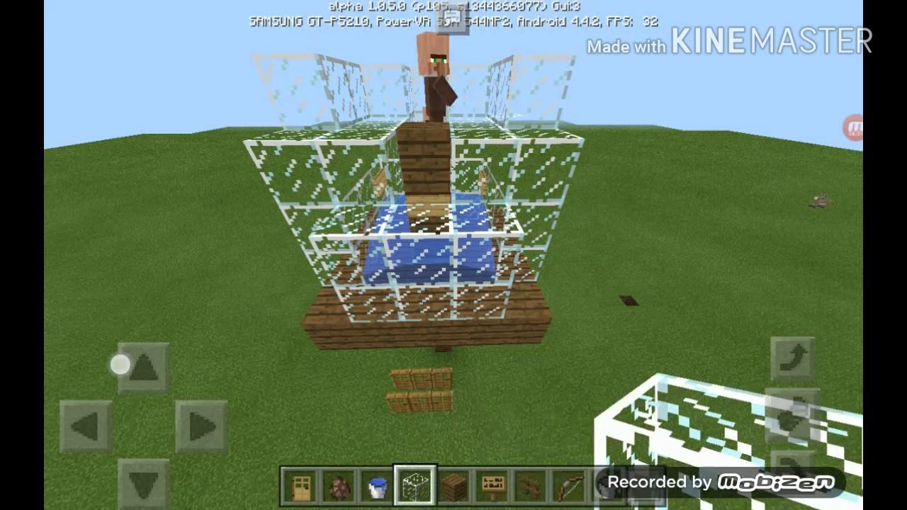 Как сделать ферму жителей в minecraft 1.7.10
