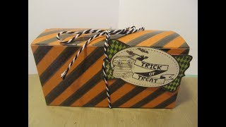 13 Haunted Projects of Halloween #10~ Inspired 6 x 2.5 x 3 Gift Box