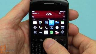 RIM BlackBerry Curve 9370 (Verizon) unboxing and quick tour