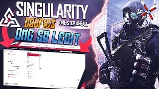SINGULARITY   BEST Legit CONFIGS TAPS SPINNERS ( FREE CFG DOWNLOAD)   CS:GO HACKING